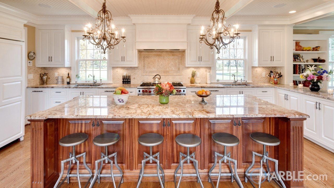 Bordeaux Granite Kitchen Countertop