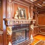 Violet Bamboo Quartzite Fireplace | Marble.com
