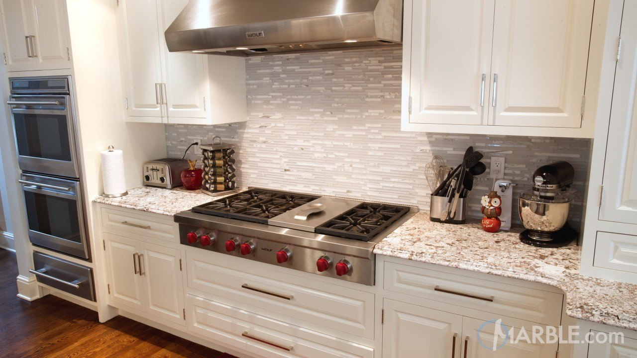 Bianco Antico Kitchen Granite Counters