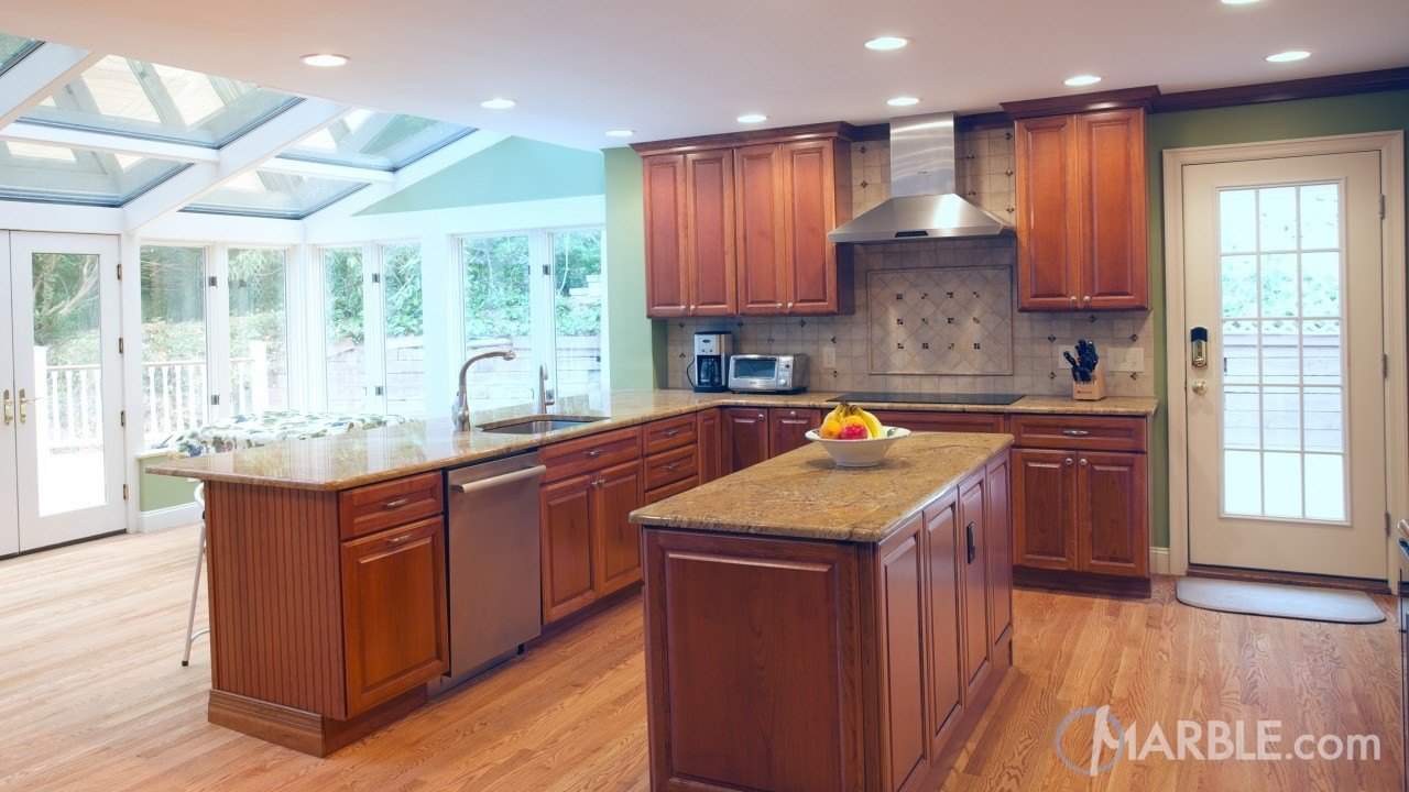 Tiberious Granite Kitchen | Marble.com