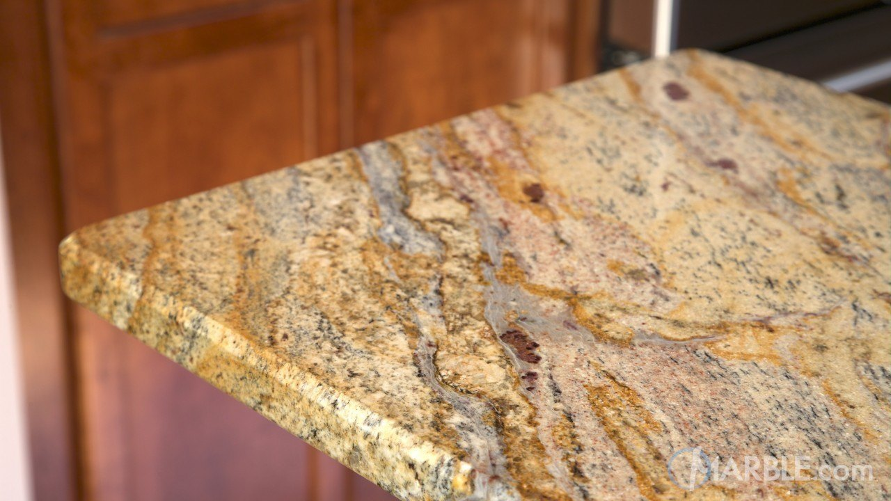 Yellow River Granite Kitchen Countertop  | Marble.com