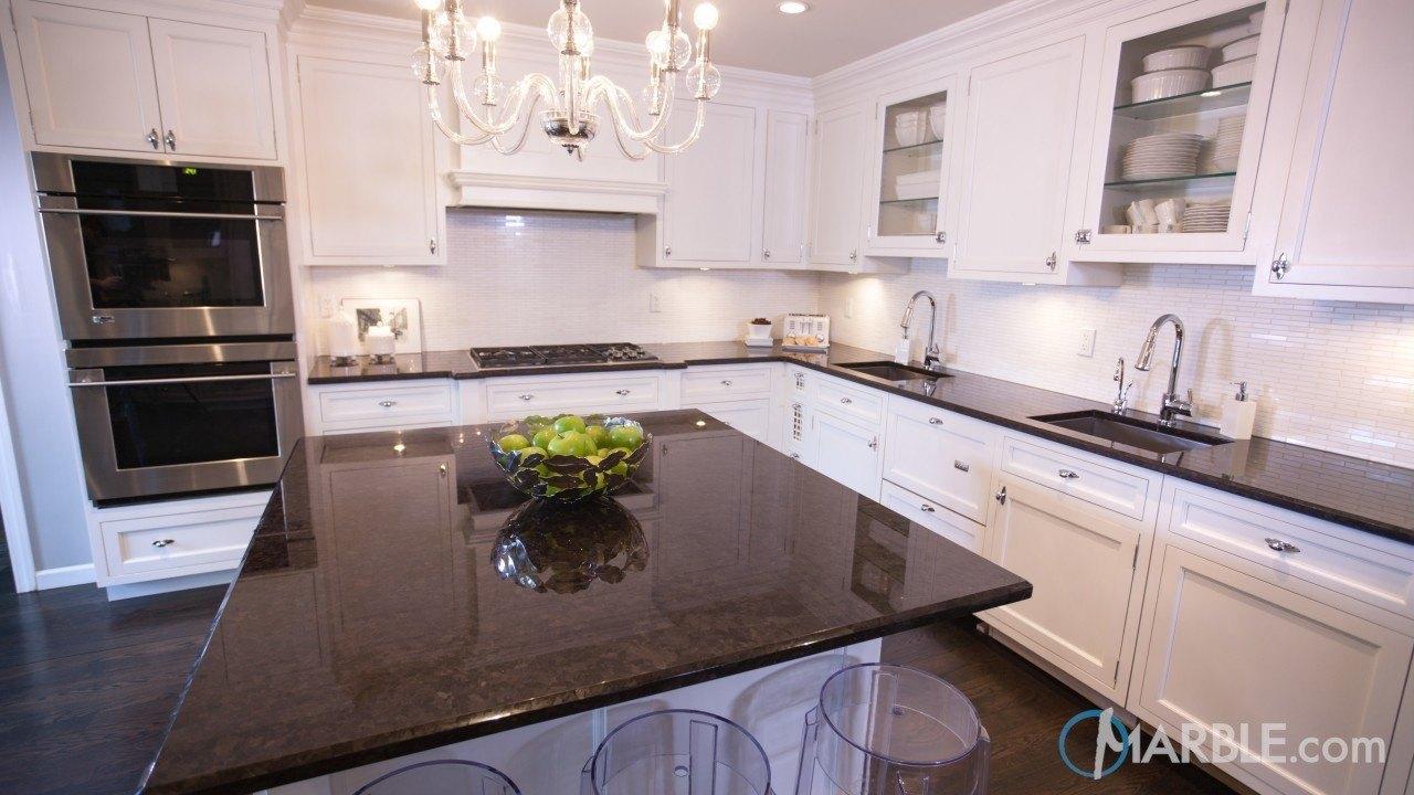 Brown Antique Kitchen Countertop | Marble.com