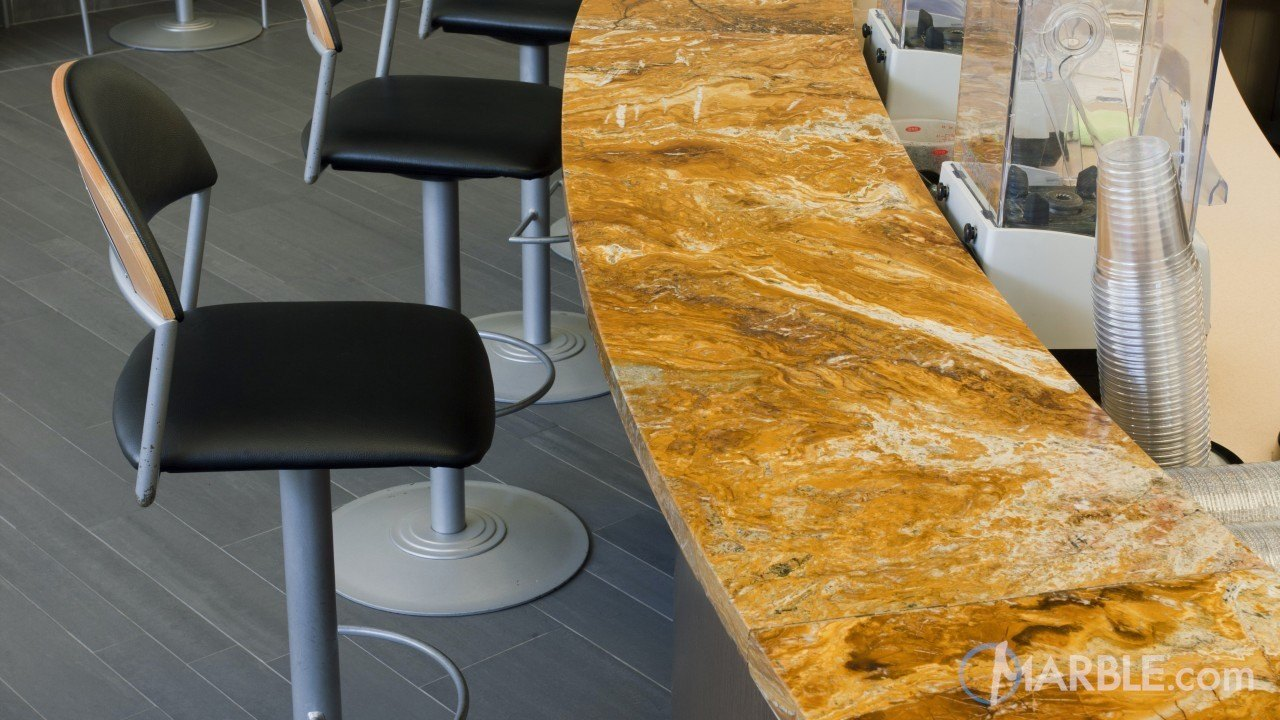 Amarello Bamboo Granite Bar | Marble.com