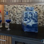 Blue Bahia Granite In A Modern Kitchen | Marble.com