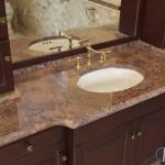 Bordeaux Granite Bathroom | Marble.com