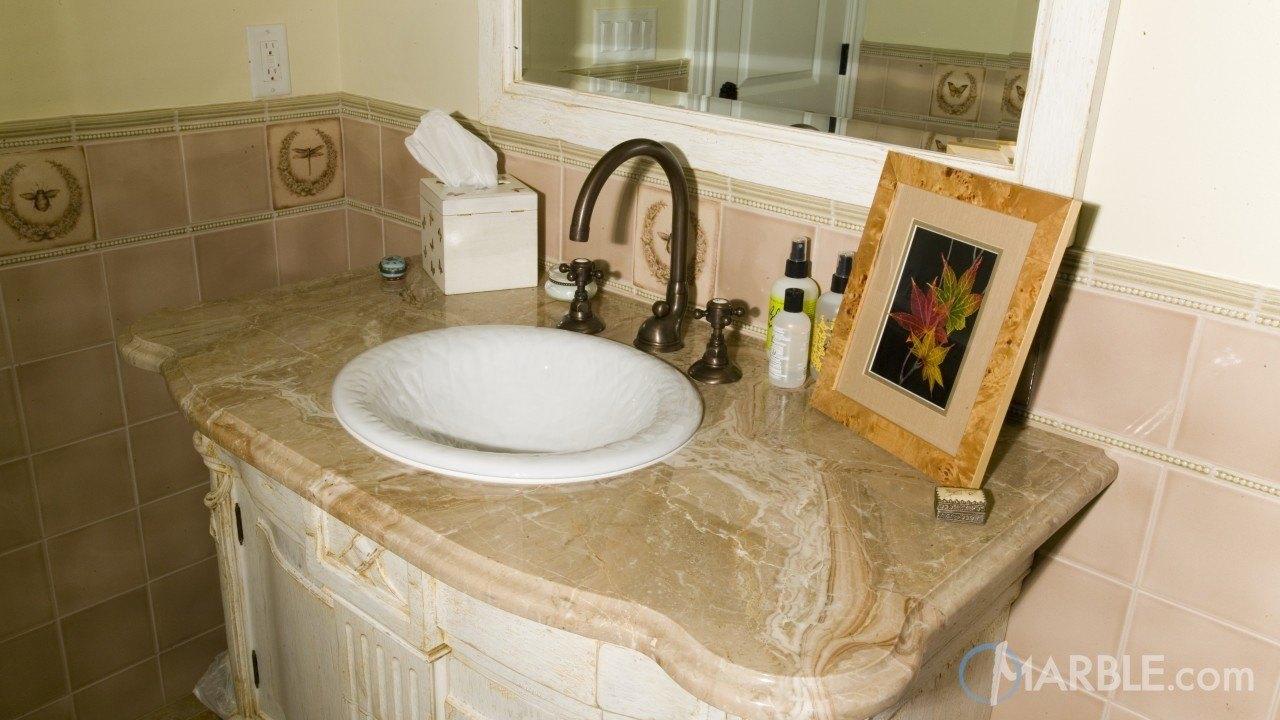 Breccia Oniciata Marble Bathroom | Marble.com