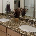 Florence Gold Granite Bathroom | Marble.com