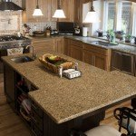 Giallo Cathedral Granite Kitchen Countertop | Marble.com