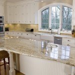 New Gold Antique Granite Kitchen | Marble.com