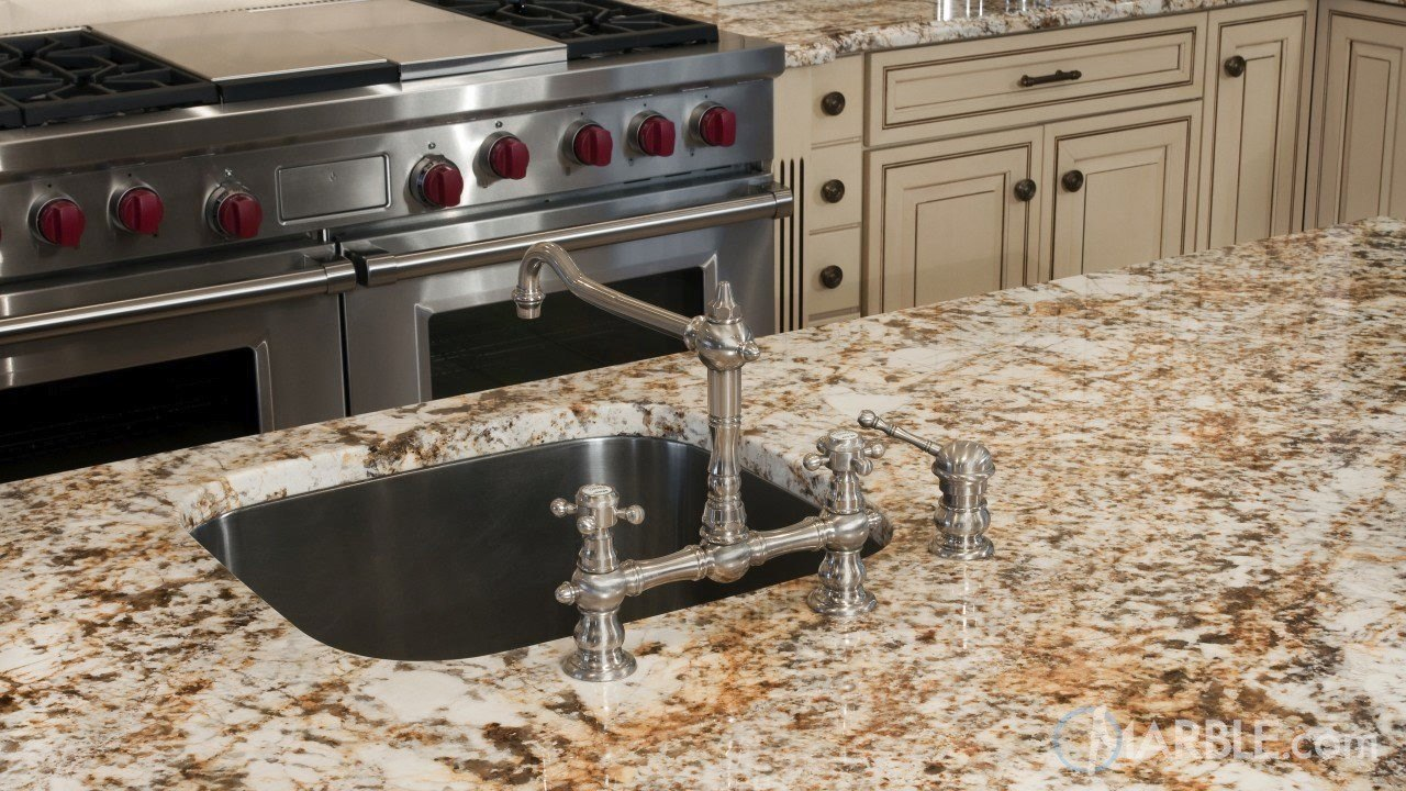 Golden Beach EX Granite Kitchen | Marble.com