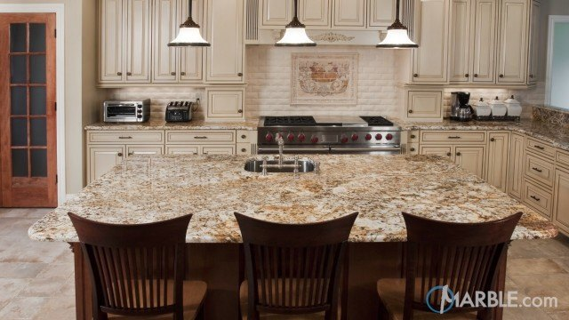 Golden Beach EX Granite Kitchen Countertops