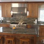 Iguana Green Granite Kitchen | Marble.com