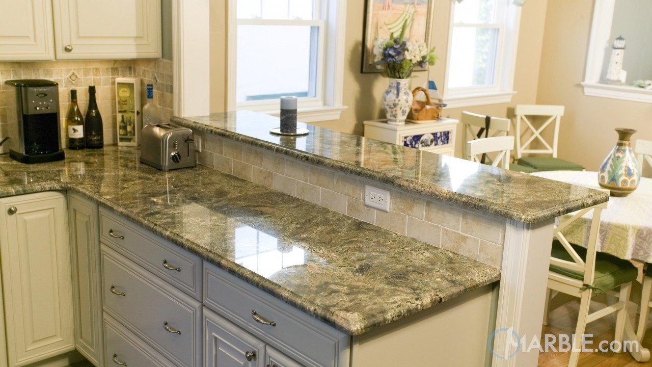 Imperial Green Kitchen Granite Counters