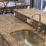 Key West Gold Granite Kitchen | Marble.com