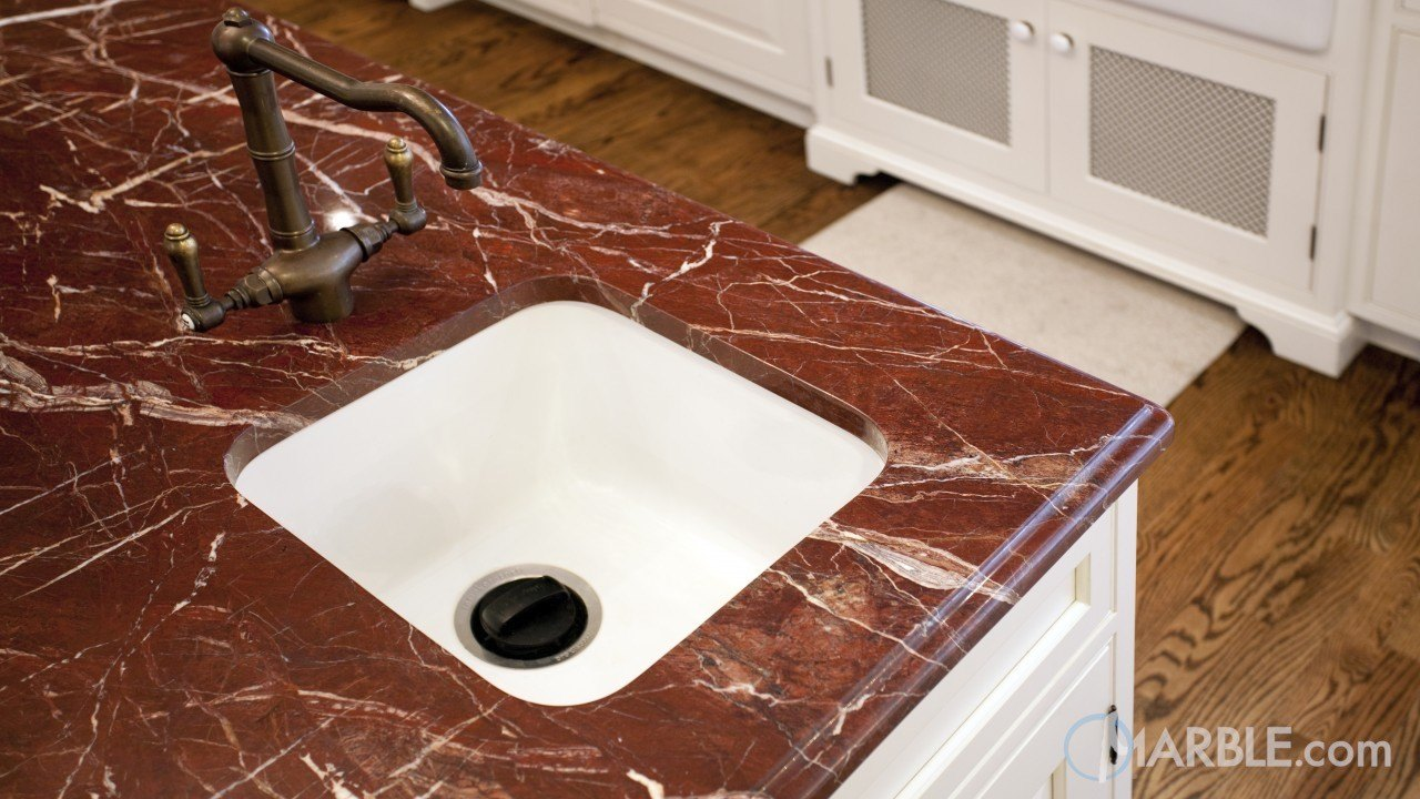 Red Ravel Granite Kitchen Countertop Marble Com