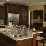 River White Granite Kitchen Countertop