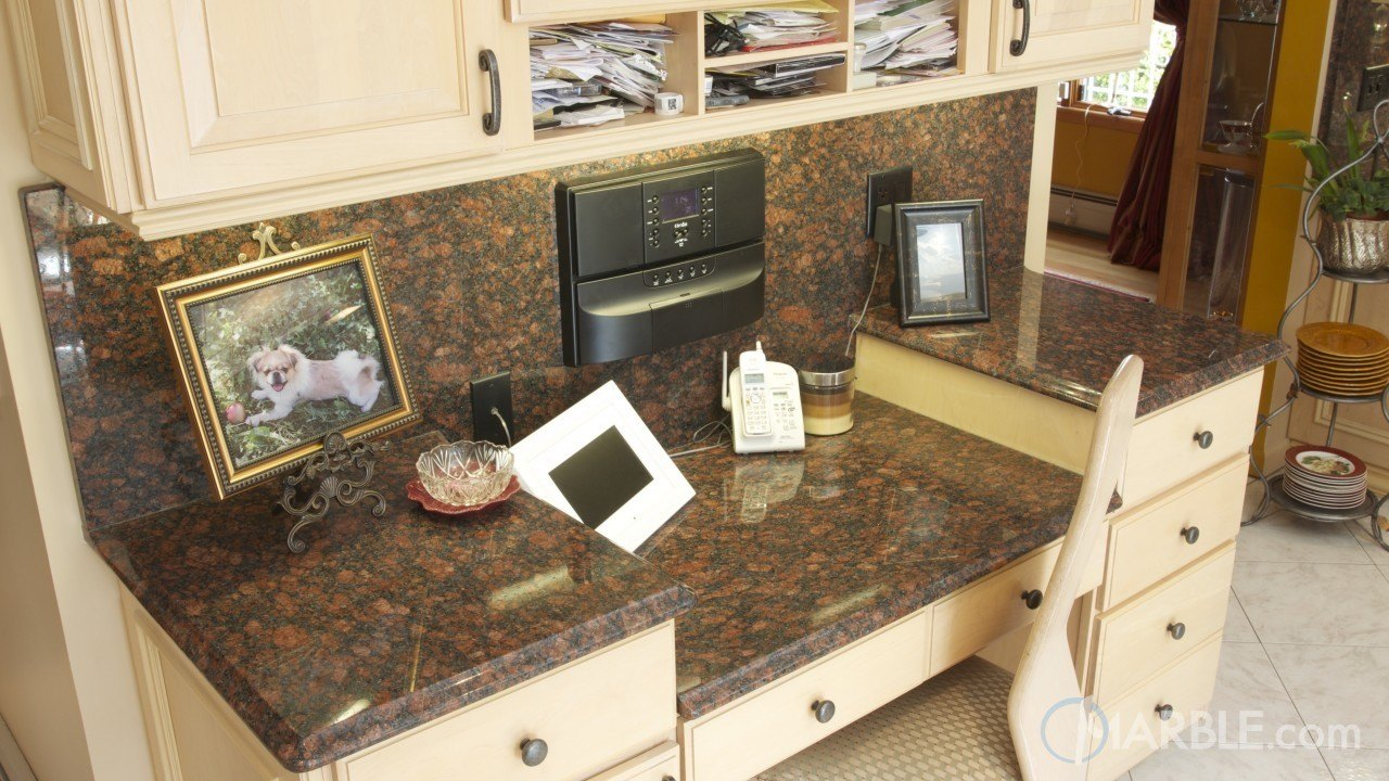 Ruby Blue Granite Kitchen | Marble.com