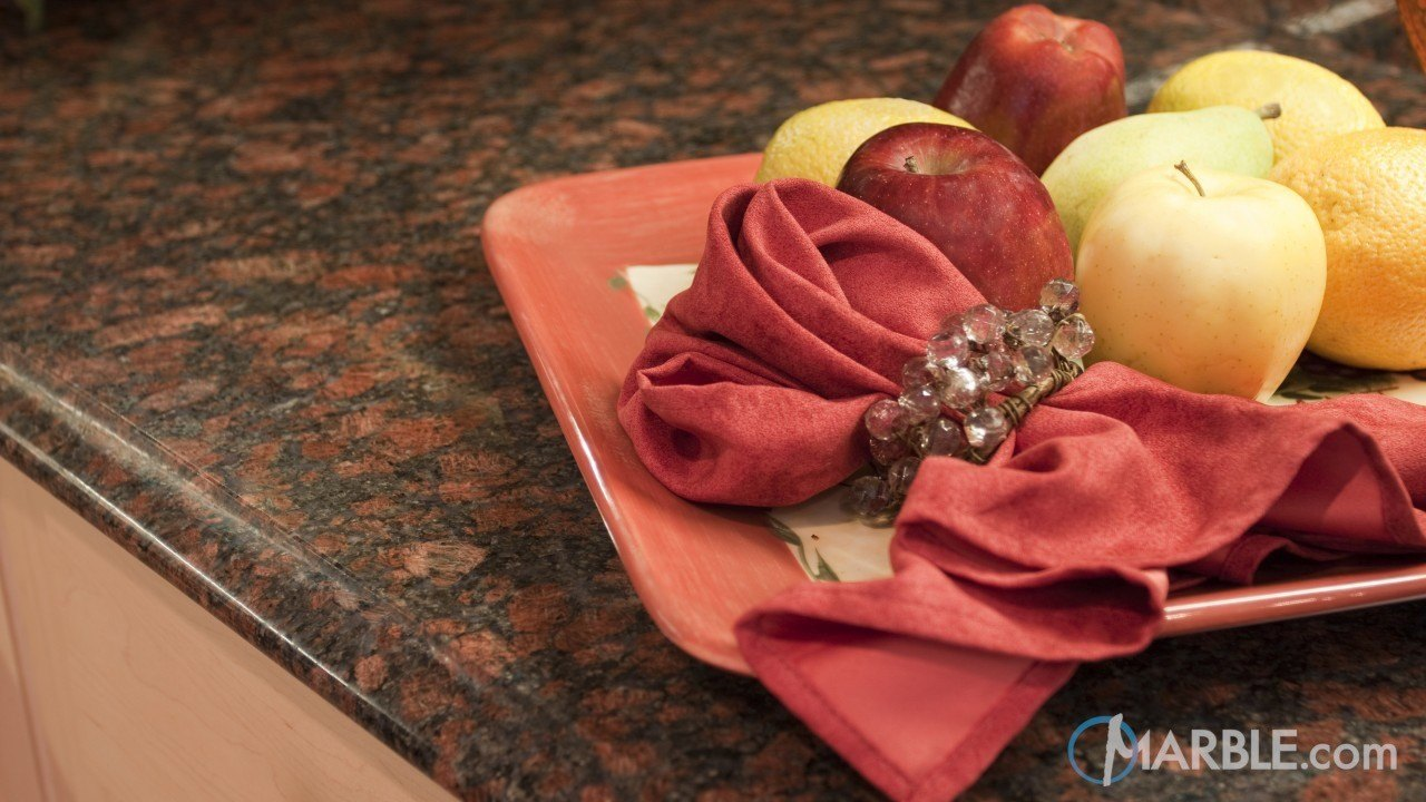 Ruby Blue Granite Kitchen Countertops | Marble.com
