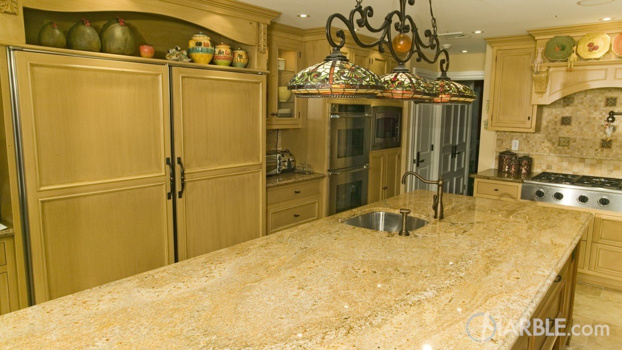 Sanguine C Granite Kitchen | Marble.com