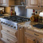 Sanguine C Granite Kitchen Countertops | Marble.com