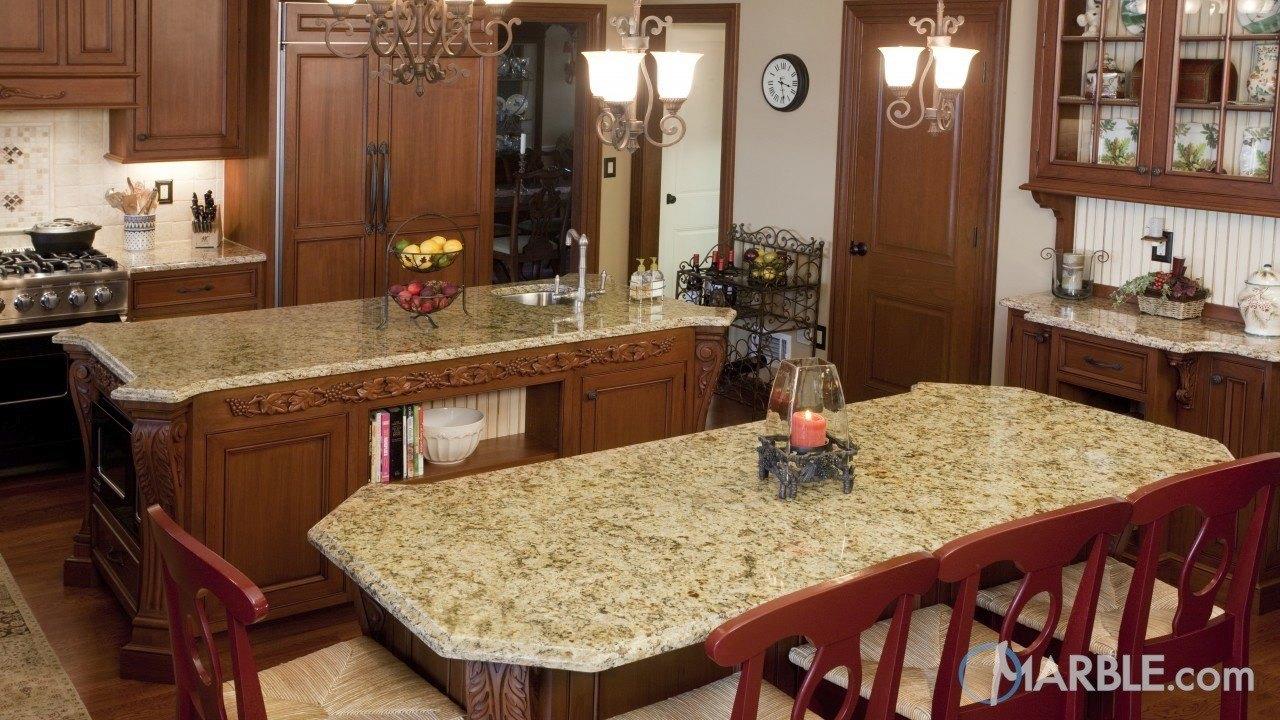 Santa Cecilia Granite Kitchen Counters