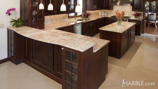 Shivakashi Pink Granite is Pink Red and Grey for Countertops