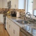 Viscont White Granite Kitchen Countertops | Marble.com