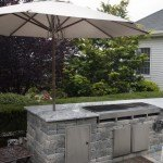 Viscont White Granite Outdoor Barbecue | Marble.com