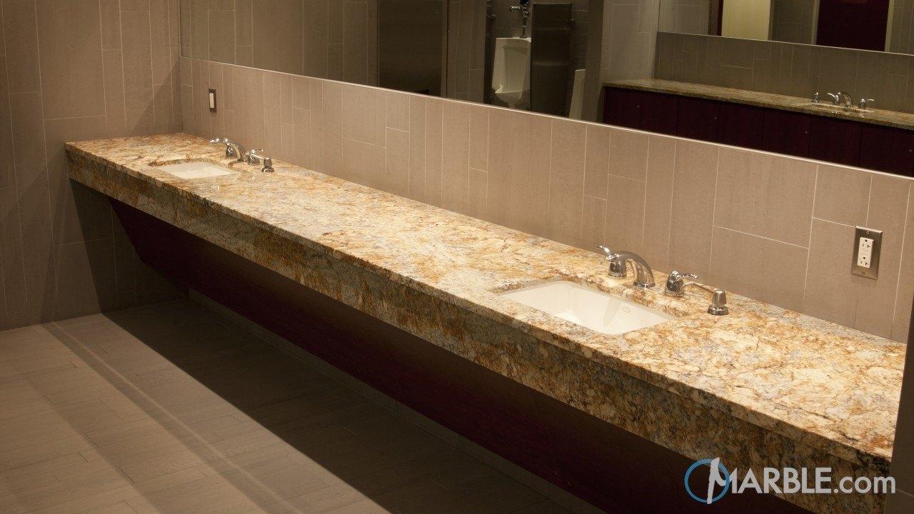 siena beige commercial bathroom vanity