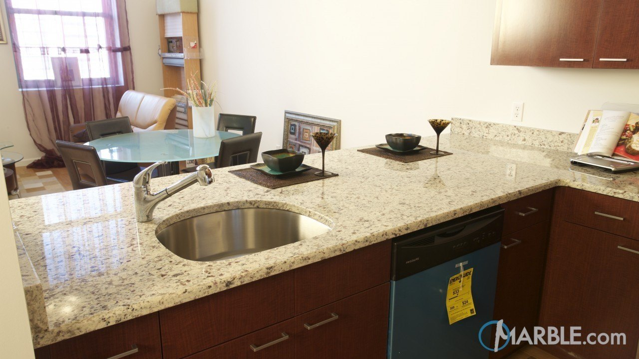 Vanilla Granite Kitchen Marble
