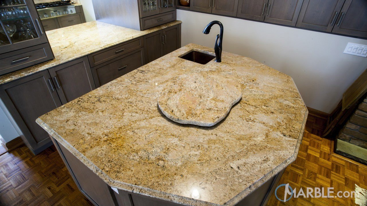 Arandis Chocolate Granite Kitchen Countertops And Lazy Susan