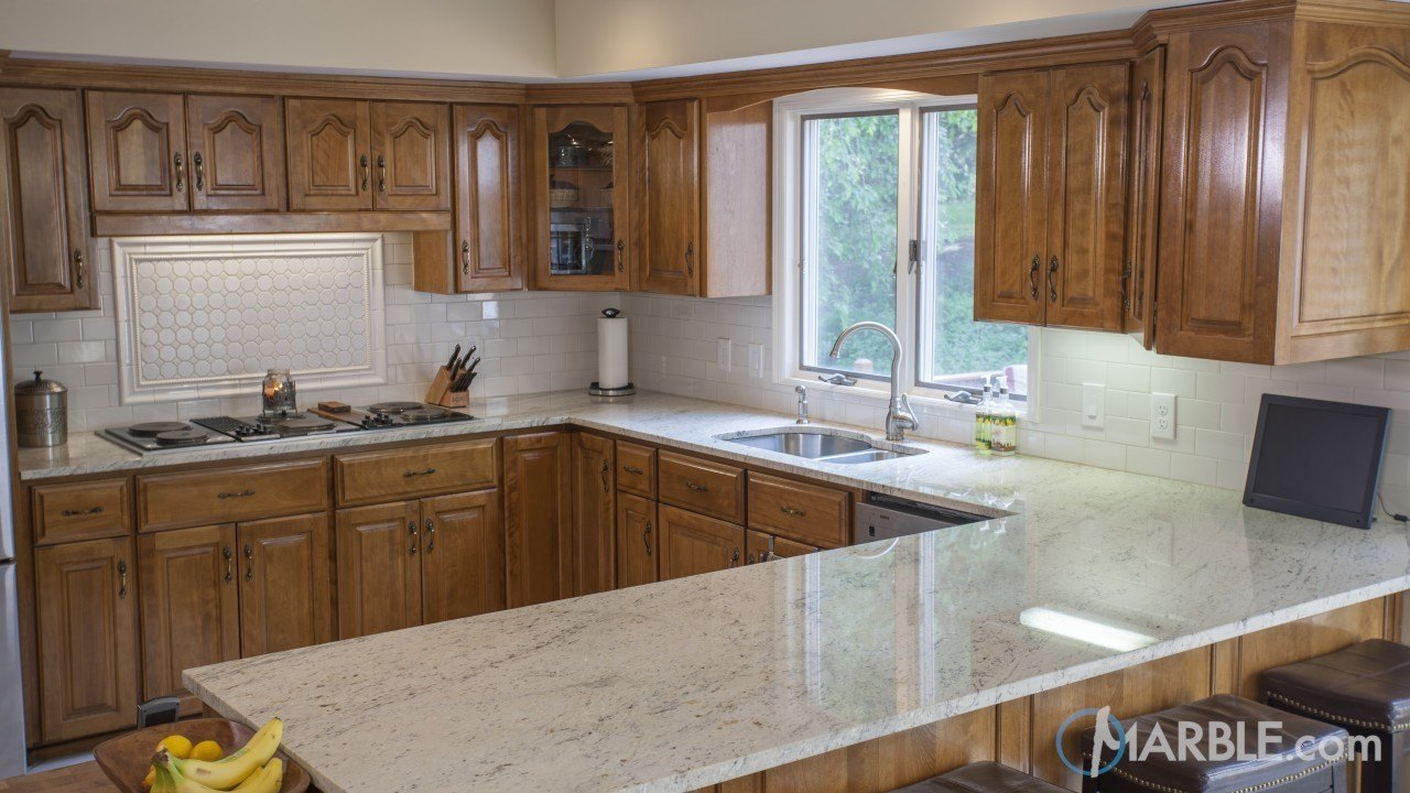 Astoria Kitchen Granite U Shape Countertop | Marble.com