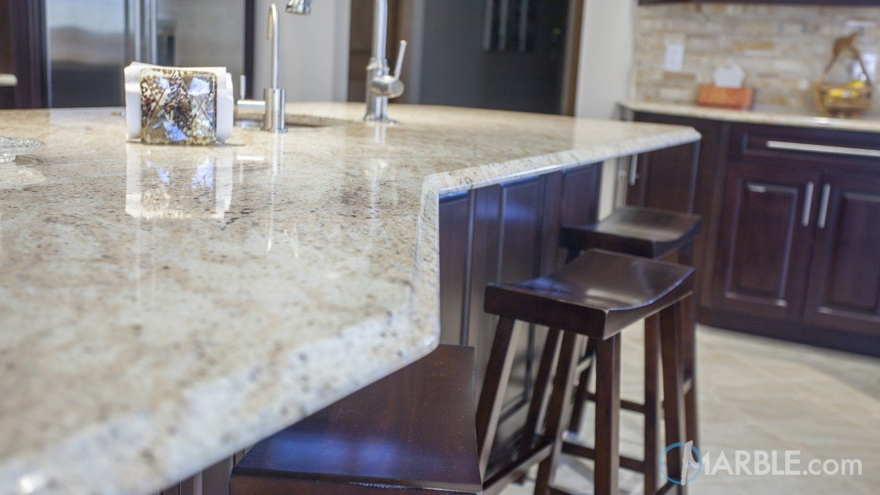 Colonial Dream Kitchen Countertops | Marble.com