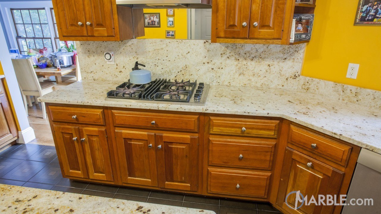 Colonial Gold Granite Kitchen Gold Kitchen Counter