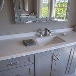 Classic White Quartzite Bathroom | Marble.com