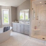 Classic White Quartzite Bathroom | Marble.com