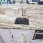 Fantasy Brown Kitchen Quartzite Modern Countertop | Marble.com