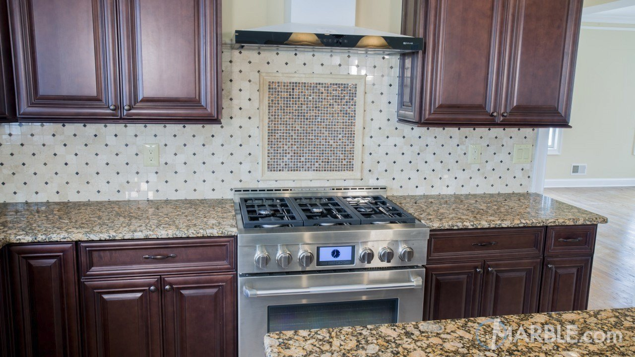 Golden Brown Super Granite Kitchen | Marble.com