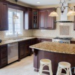 Golden Brown Super Granite Kitchen Countertop | Marble.com