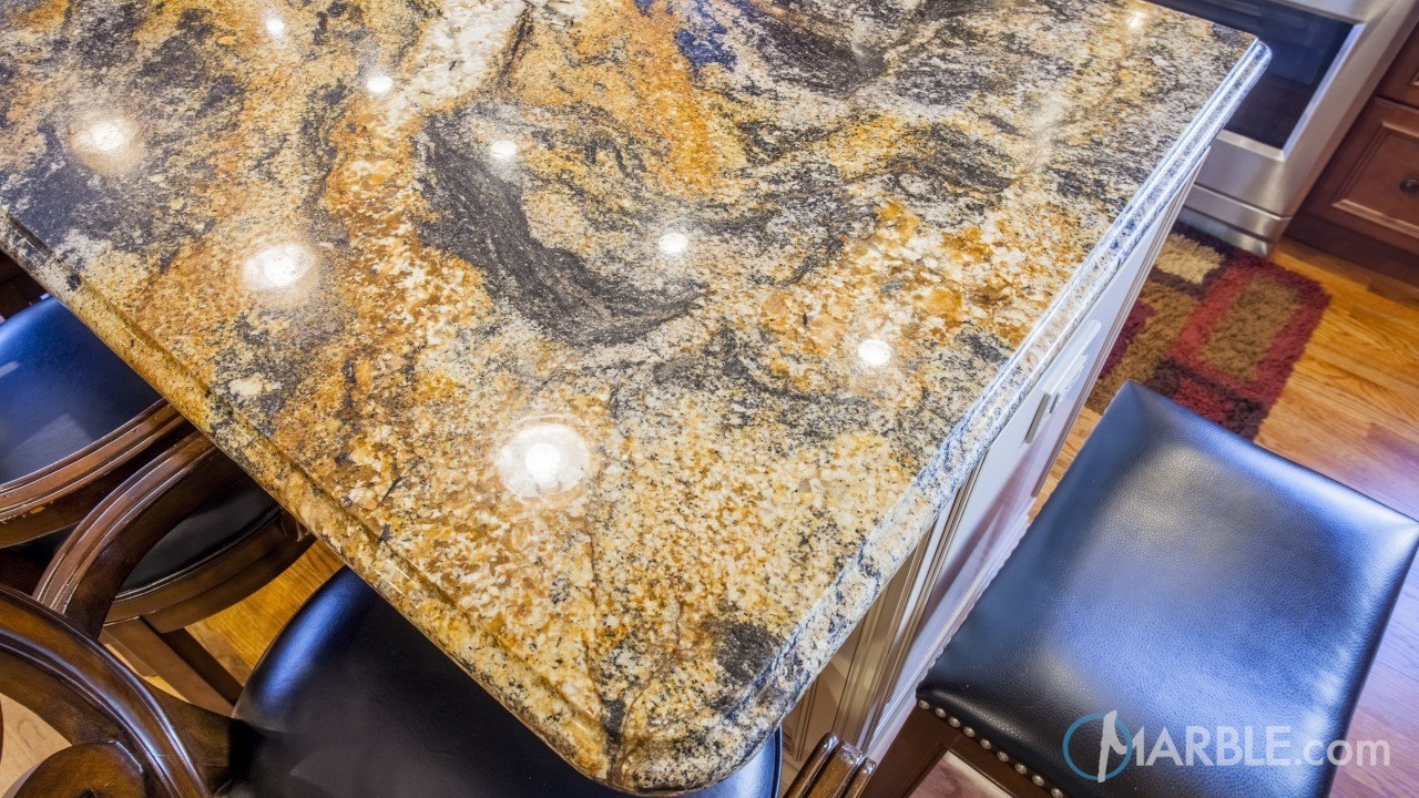 Magma Gold Kitchen Granite | Marble.com