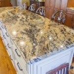 Magma Gold Kitchen Granite Countertops | Marble.com