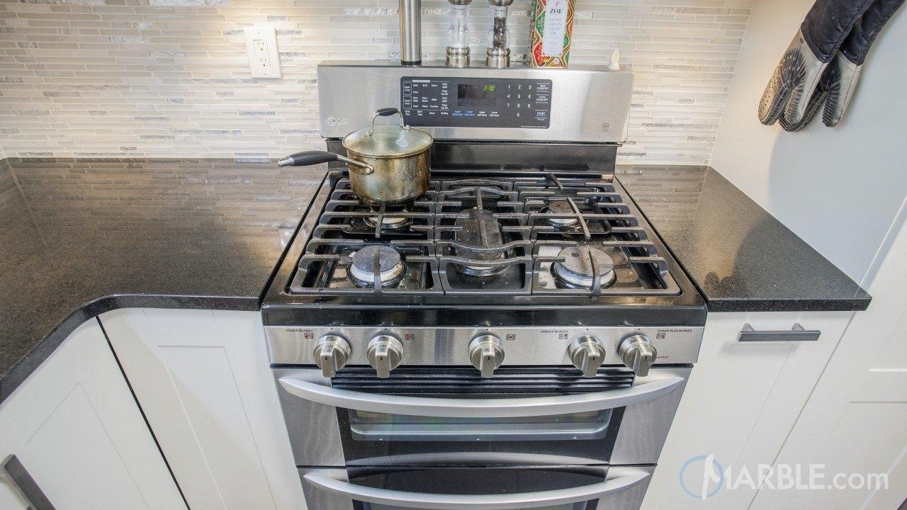 Black Galaxy Granite Kitchen | Marble.com