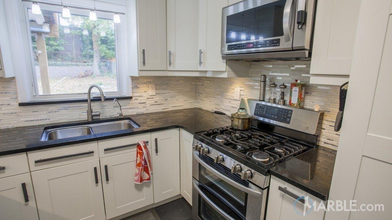 Black Galaxy Granite Kitchen Countertop Marble Com
