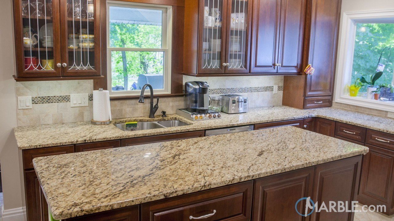 Giallo Ornamental Granite Countertop Materials | Marble.com