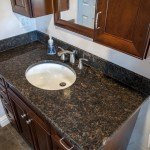 Tan Brown Granite Bathroom Vanity | Marble.com