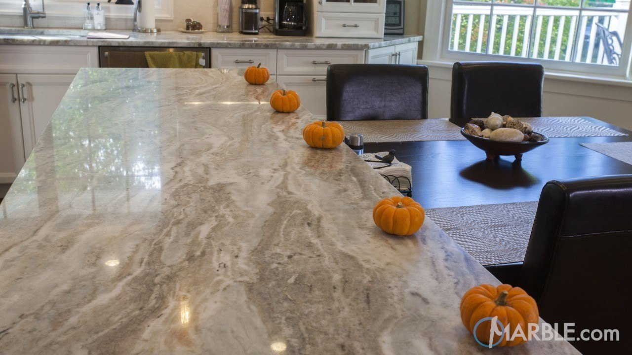 Fantasy Brown Quartzite Kitchen Counter | Marble.com