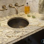 Colonial Cream Granite Bathroom Vanity | Marble.com