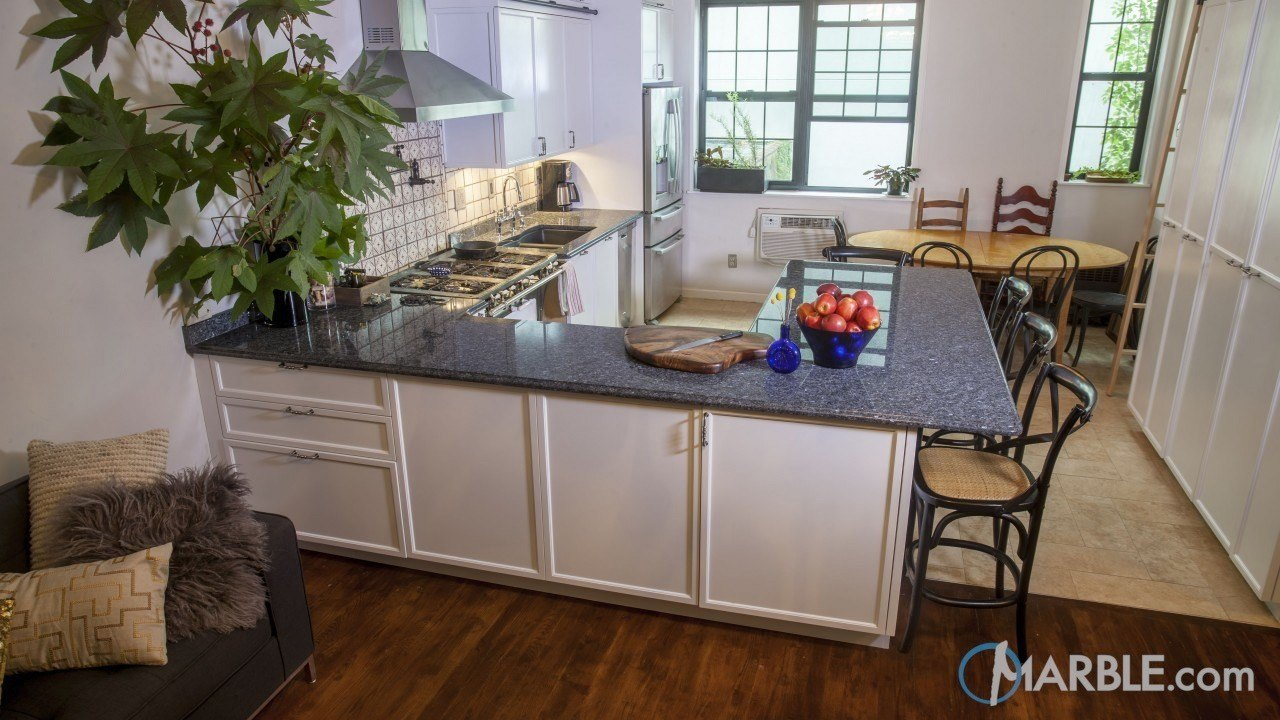 Silver Pearl Granite Kitchen Countertop | Marble.com