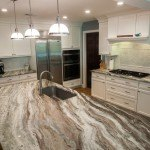 Fantasy Brown Quartzite Modern Kitchen  | Marble.com