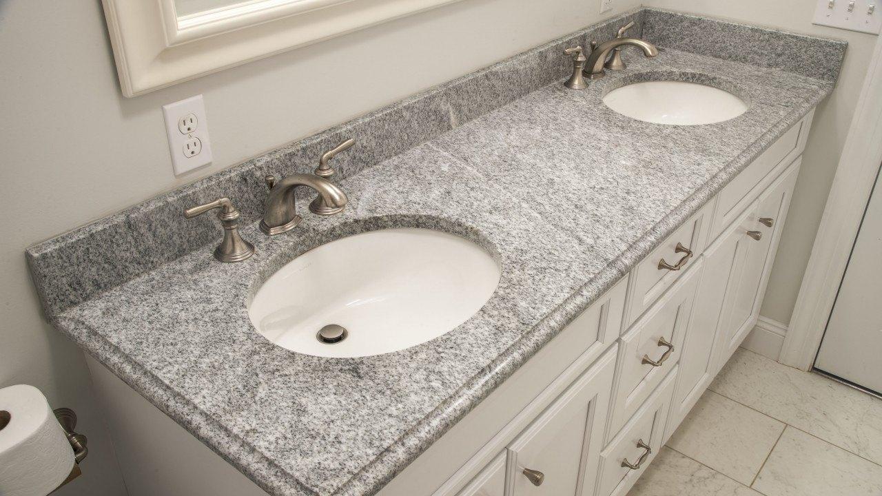 bianco diamante granite bathroom vanity top - Bathroom Vanity Top